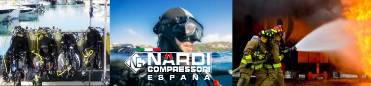Compresores para buceo y bomberos