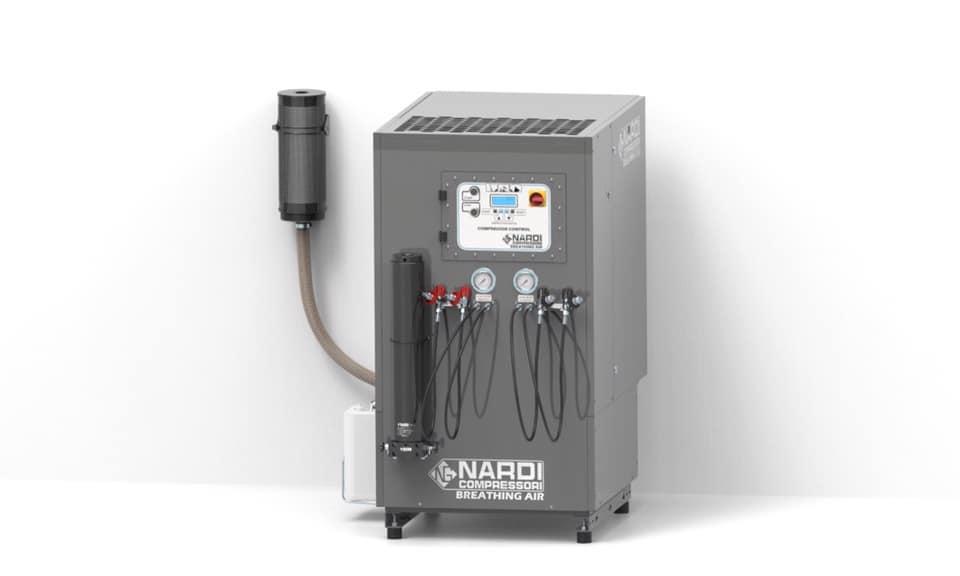 Reducir CO2 compresores de alta presión